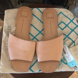 Dolce Vita Cato asymmetrical slide sandals